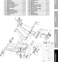 page 7 of 8 manual for the 61253 3 ton low profile steel heavy duty [ 1165 x 1623 Pixel ]