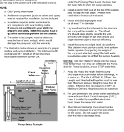 page 5 of 12 manual for the 63407 1 hp stainless steel shallow well pump [ 1090 x 1623 Pixel ]