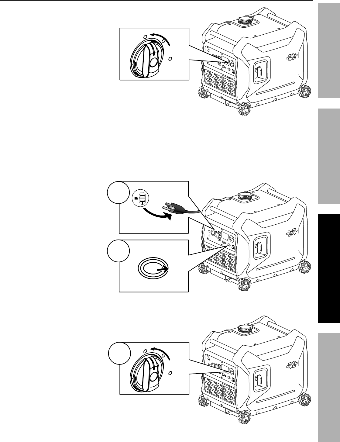 Manual For The 63584 3500 Watt Super Quiet Inverter Generator