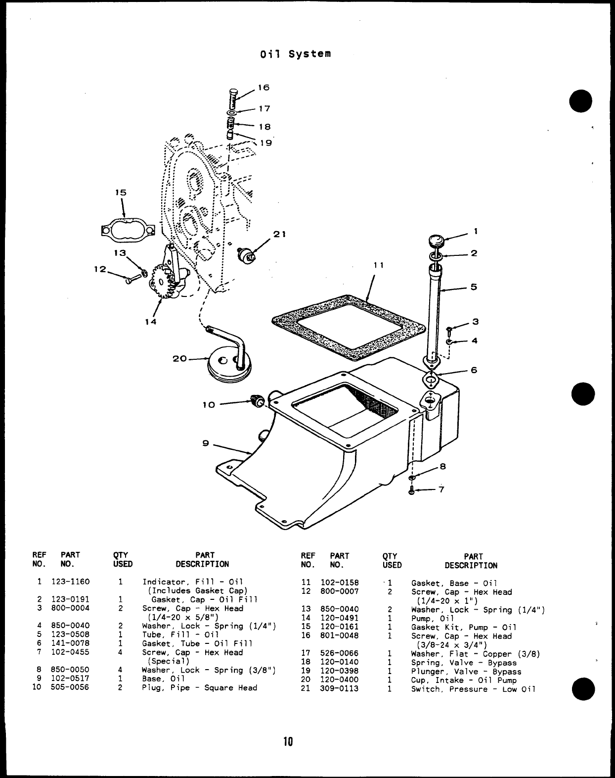 927 0224 Onan MCCK (spec H J) Marine Genset Parts Manual