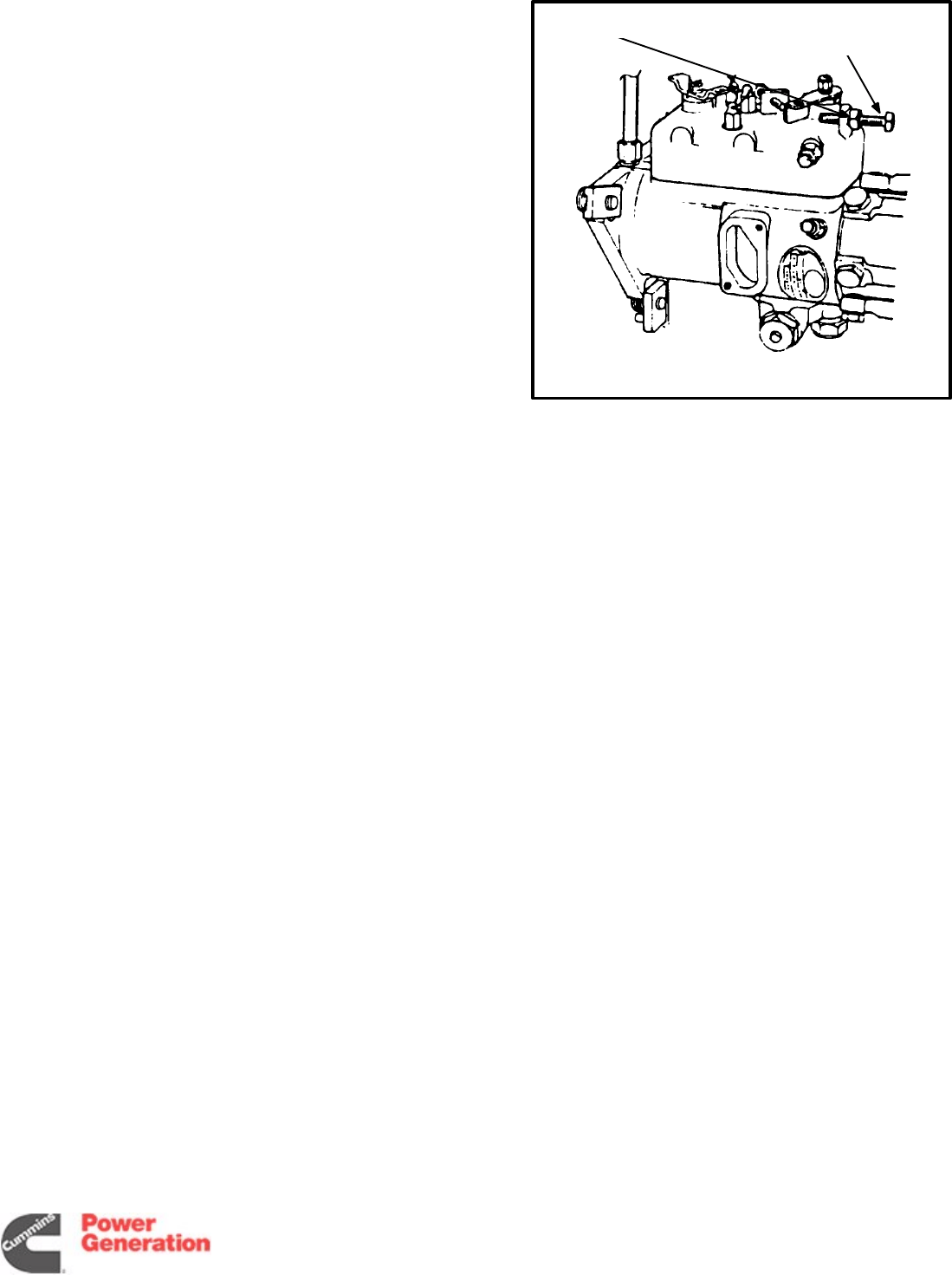 960 0505 Onan DGxx QSxx Detector Controls Generator Set