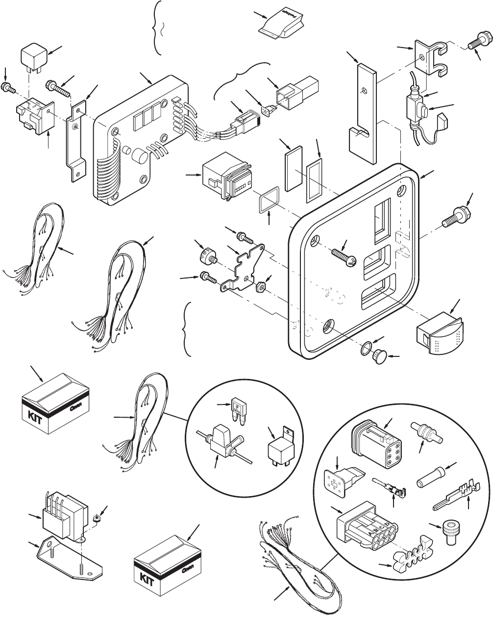 965 0228 Onan BGD BGDL (spec A M) Genset Parts Manual (07