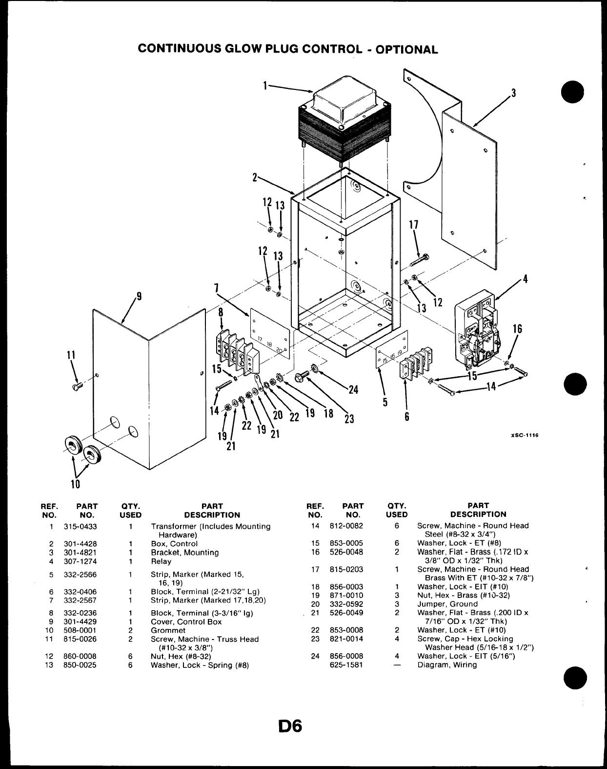 967 0224 Onan DJA (spec A V) Genset Parts Manual (07 1989)