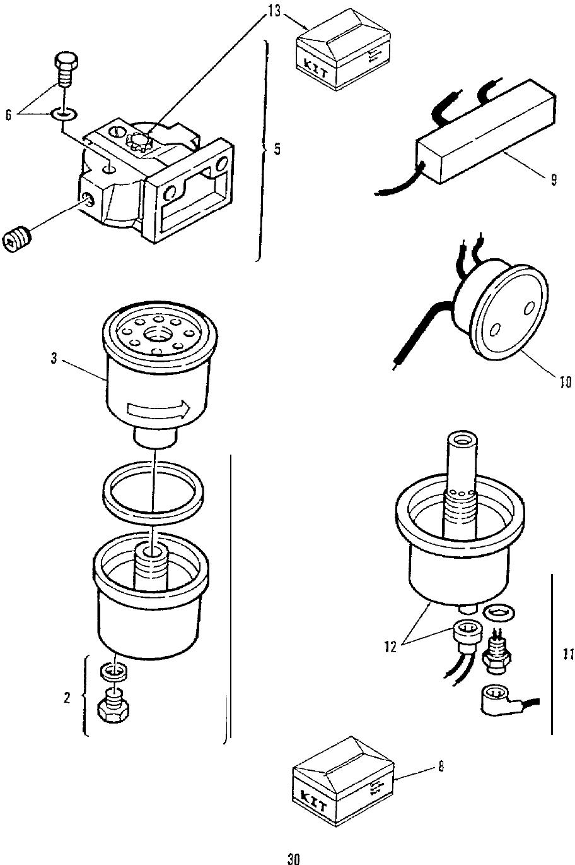 981 0240B Onan DKD (spec A E) AUX + RV Genset Parts Manual