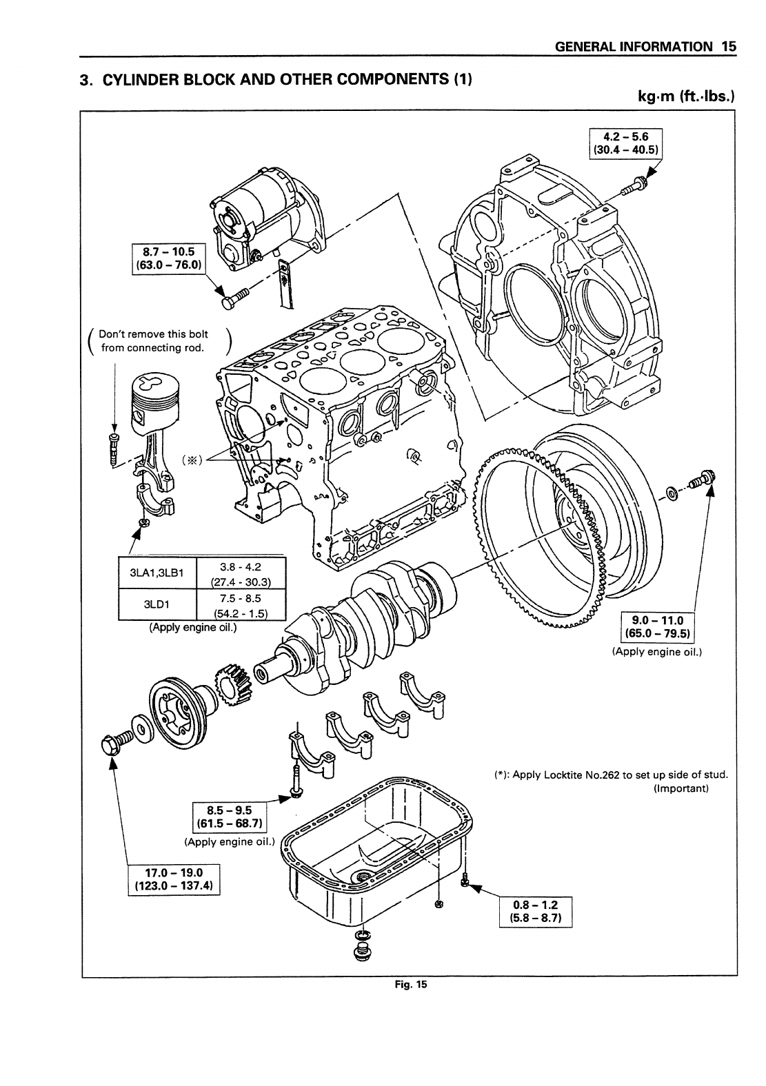 Isuzu Engine Diagram