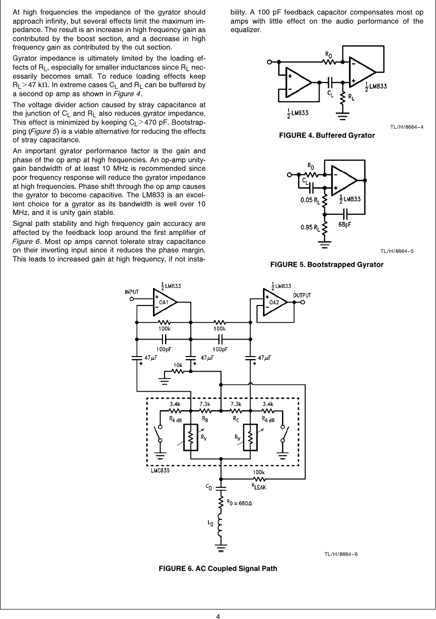 medium resolution of designing with the lmc835 digital controlled graphic equalizer an band graphic equalizer circuit diagram design using lmc835