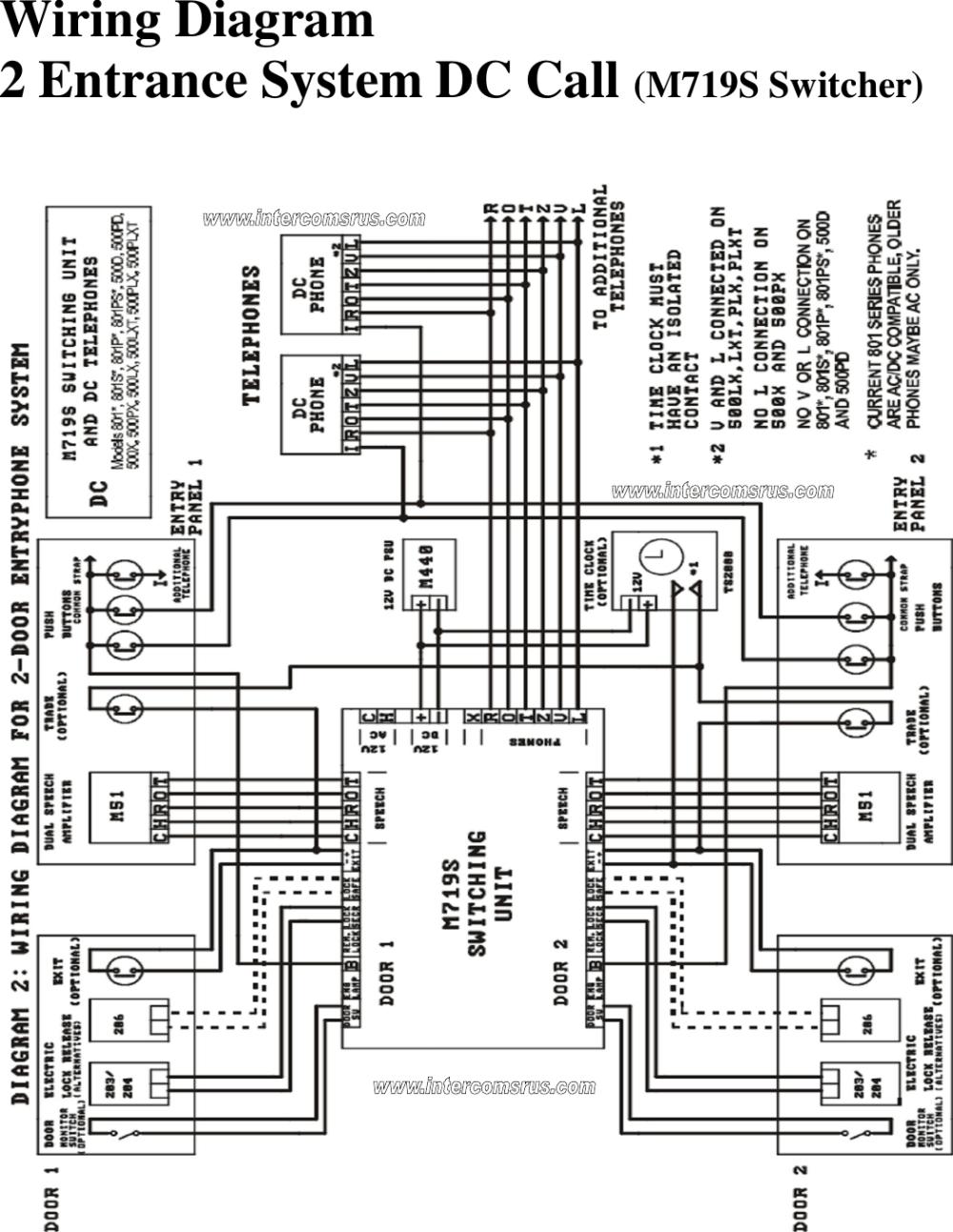 medium resolution of bstl intercom wiring diagram wiring diagram b7 intercom wiring page 2
