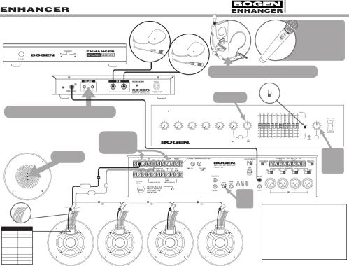 small resolution of 54 7891 02e bogen enhancer esysx m systems wiring diagrams enhance esysdia