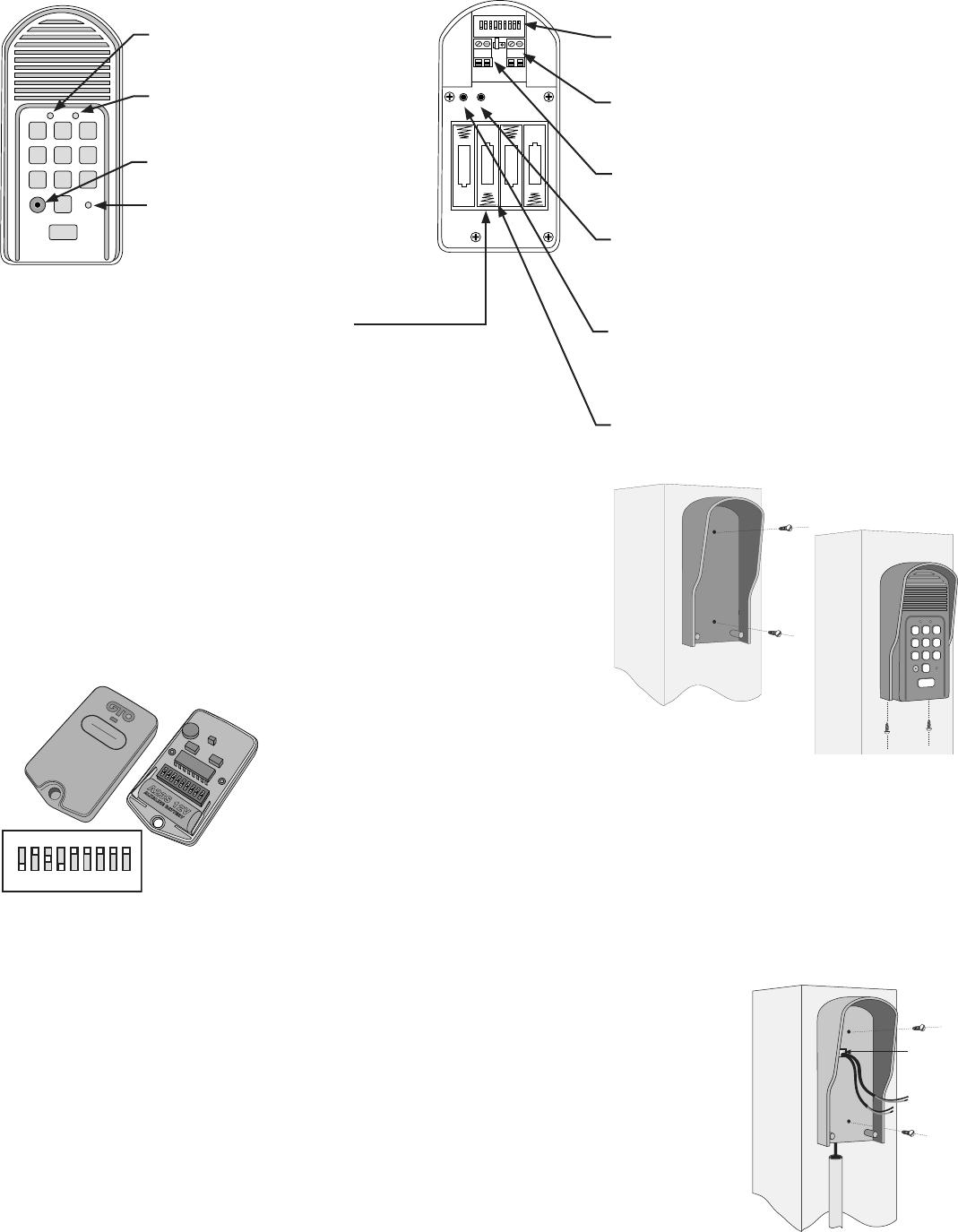 FM136 Installation Manual !! Mighty Mule Wireless Intercom