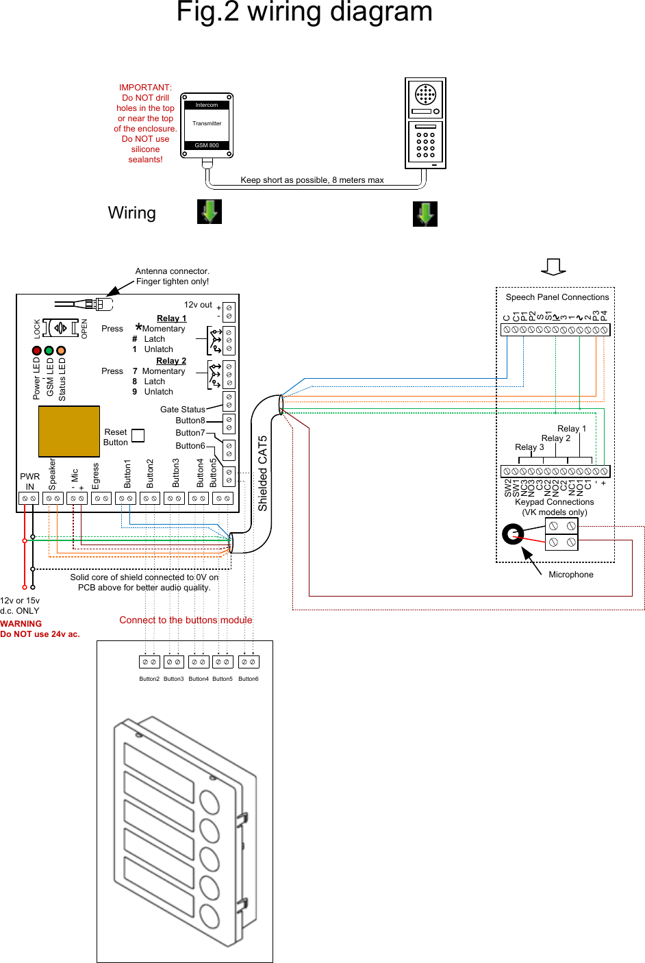 medium resolution of page 4 of 4 gsm800e videx 4836 1 4000 series