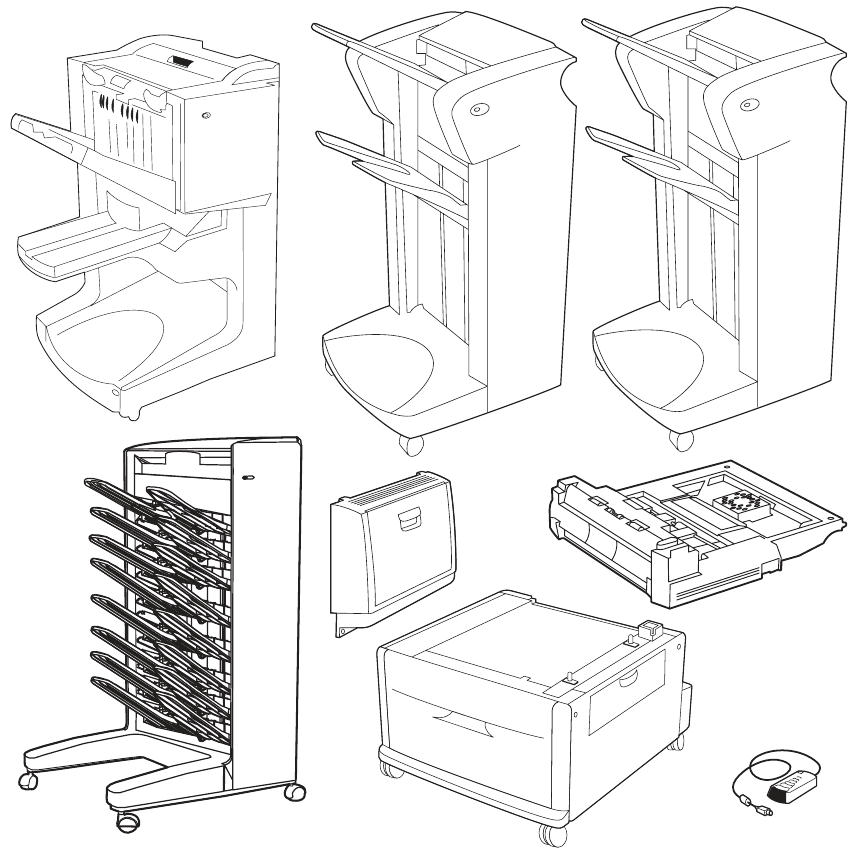 HP LaserJet 9000, 9040, And 9050 Series Printers Service