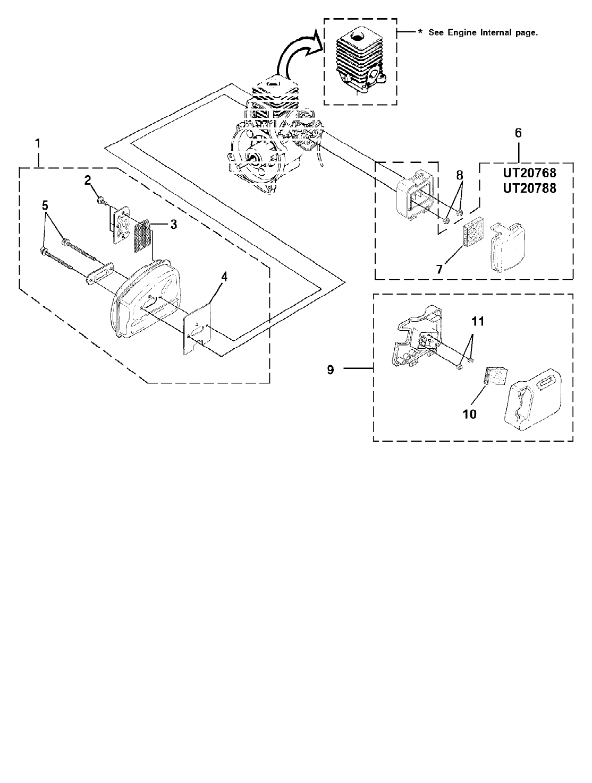 Diagram And/or PartsList F2020 Homelite String Trimmer