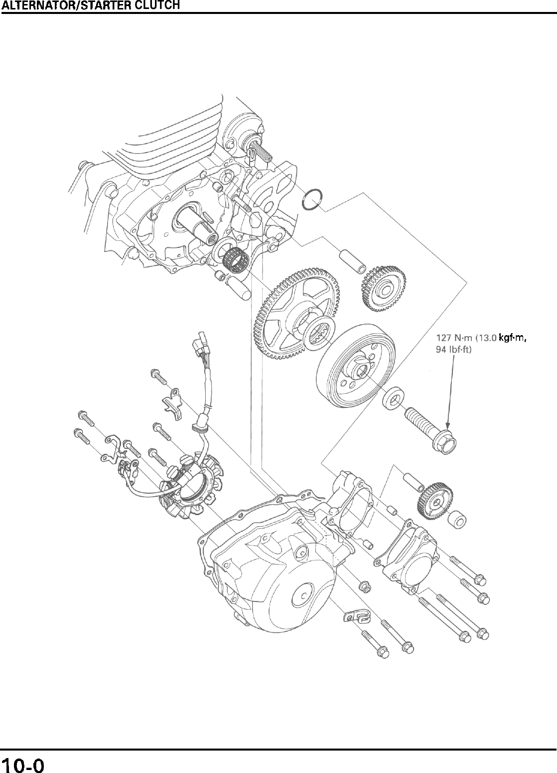 Bestseller: 94 Cr125 Engine Diagram