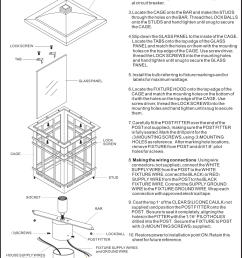 electrical fixture wiring diagram black to black [ 1175 x 1688 Pixel ]