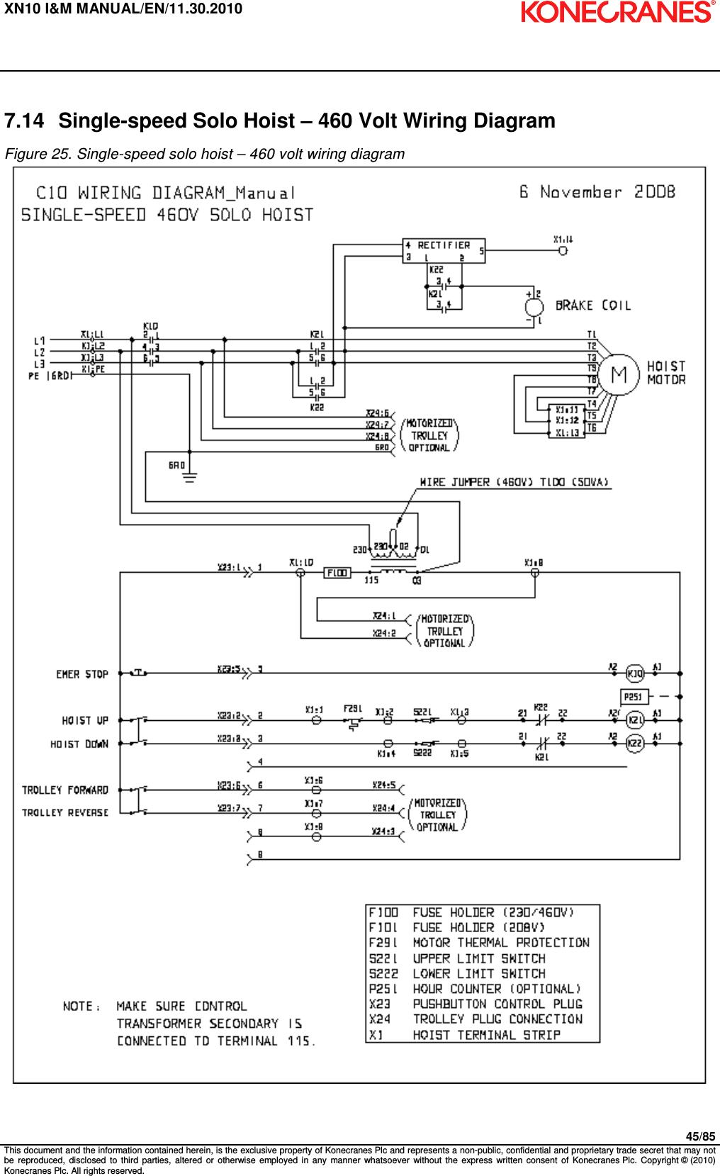 hight resolution of 380 volt wiring diagram overhead crane
