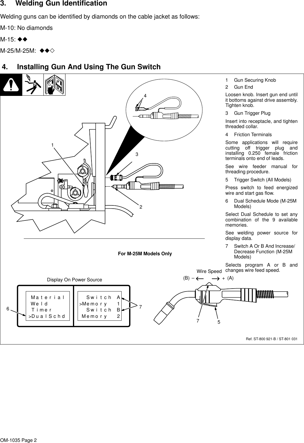 hight resolution of page 2 of 8 o1035b mil miller m 25 mig gun