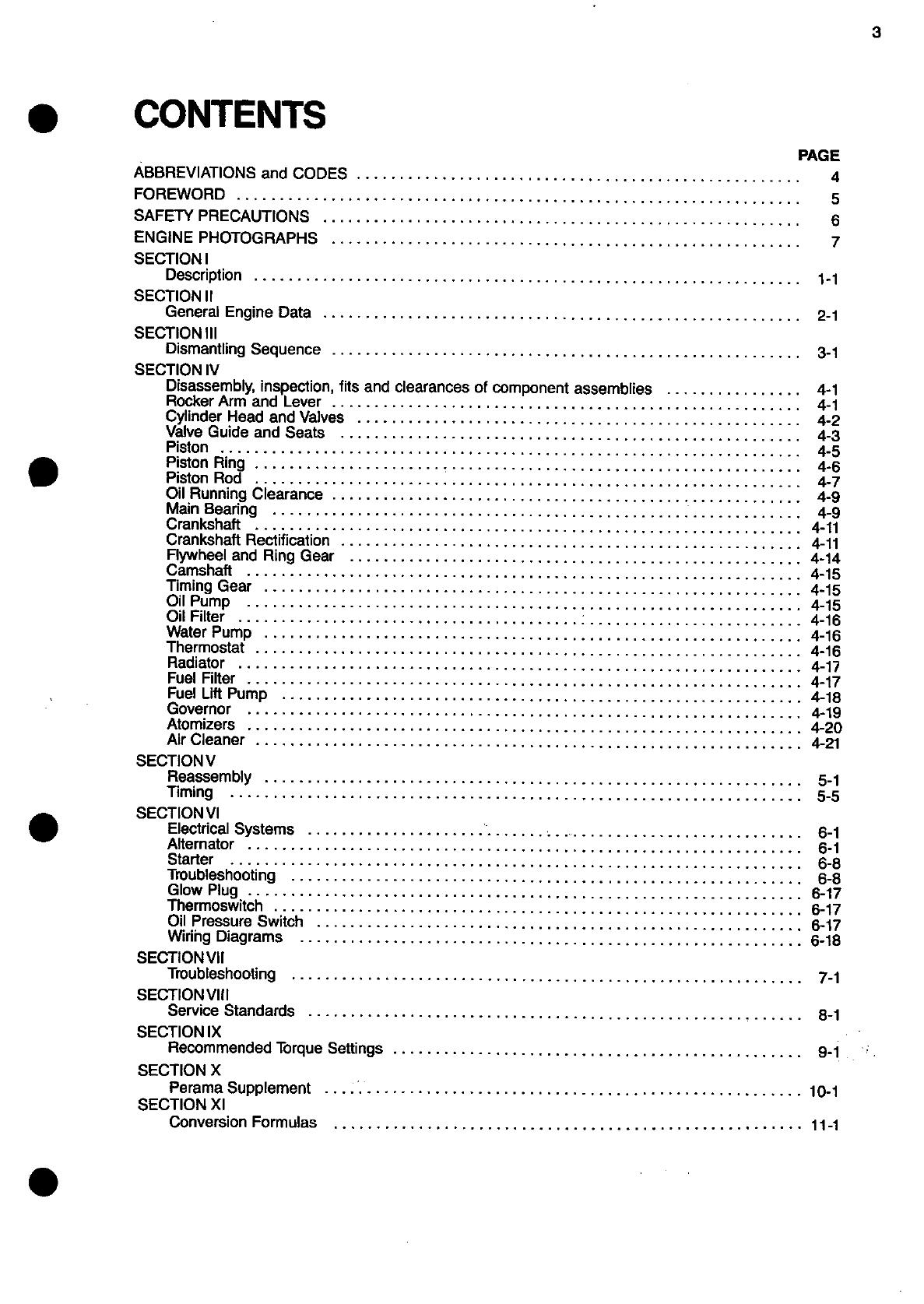 Kuhn Rikon Corp. Automobile Parts 8124 PERKINS ENGINE