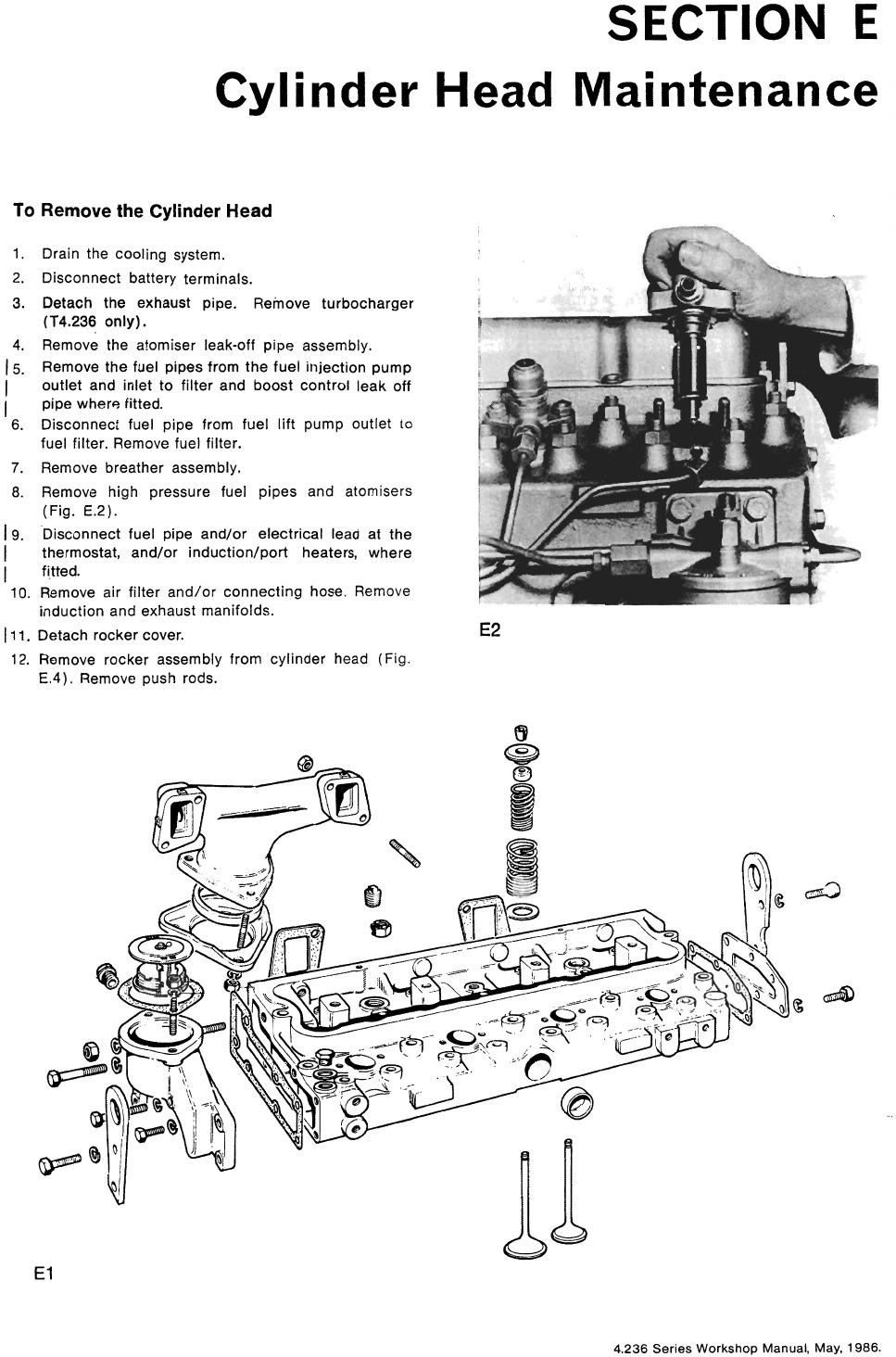 Perkins 4.326 Workshop Manual