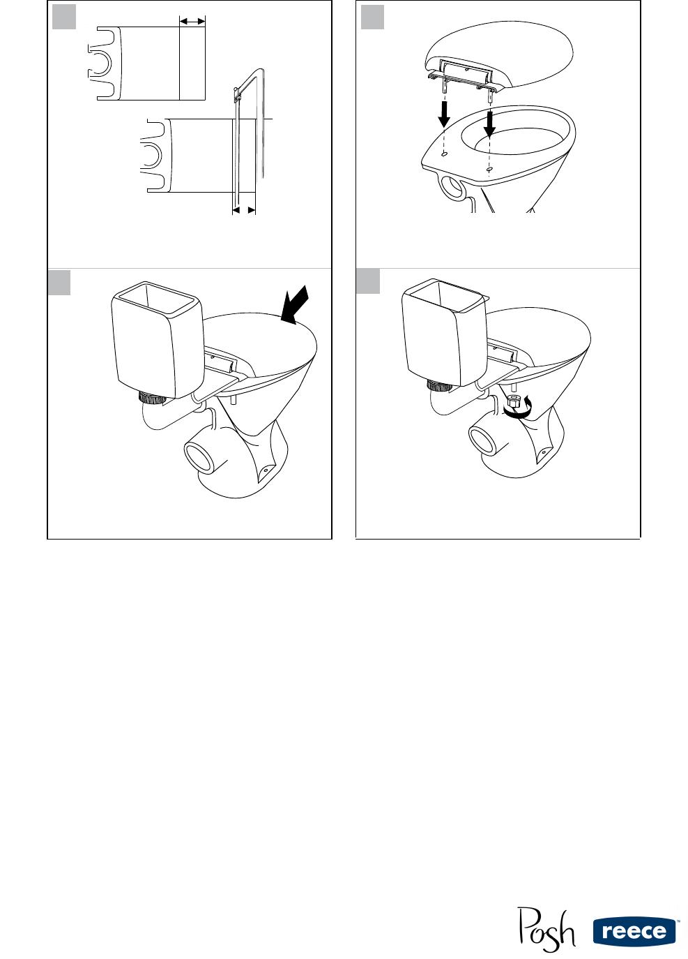 JSS4 TS Posh Dominique Link Toilet Suite 9502975 tech warranty