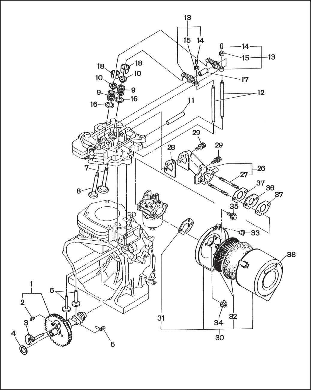 RGV6100 / 6101 GENERATOR RGV6100E Parts Manual