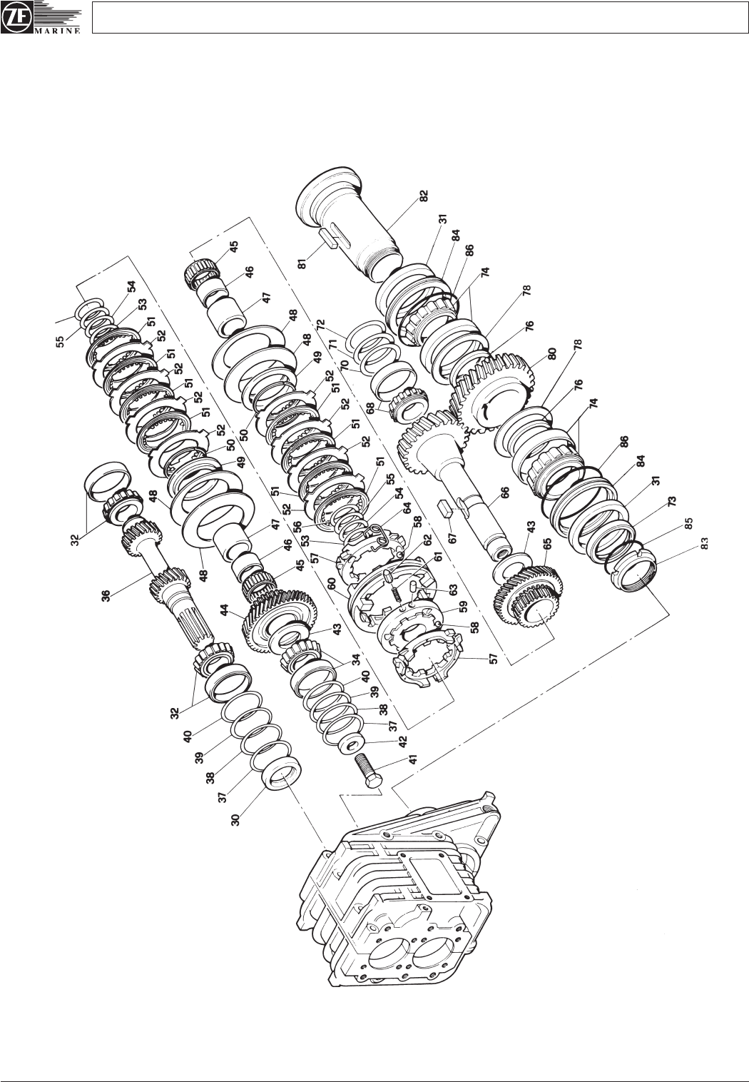 Service Manual ZF Gearbox