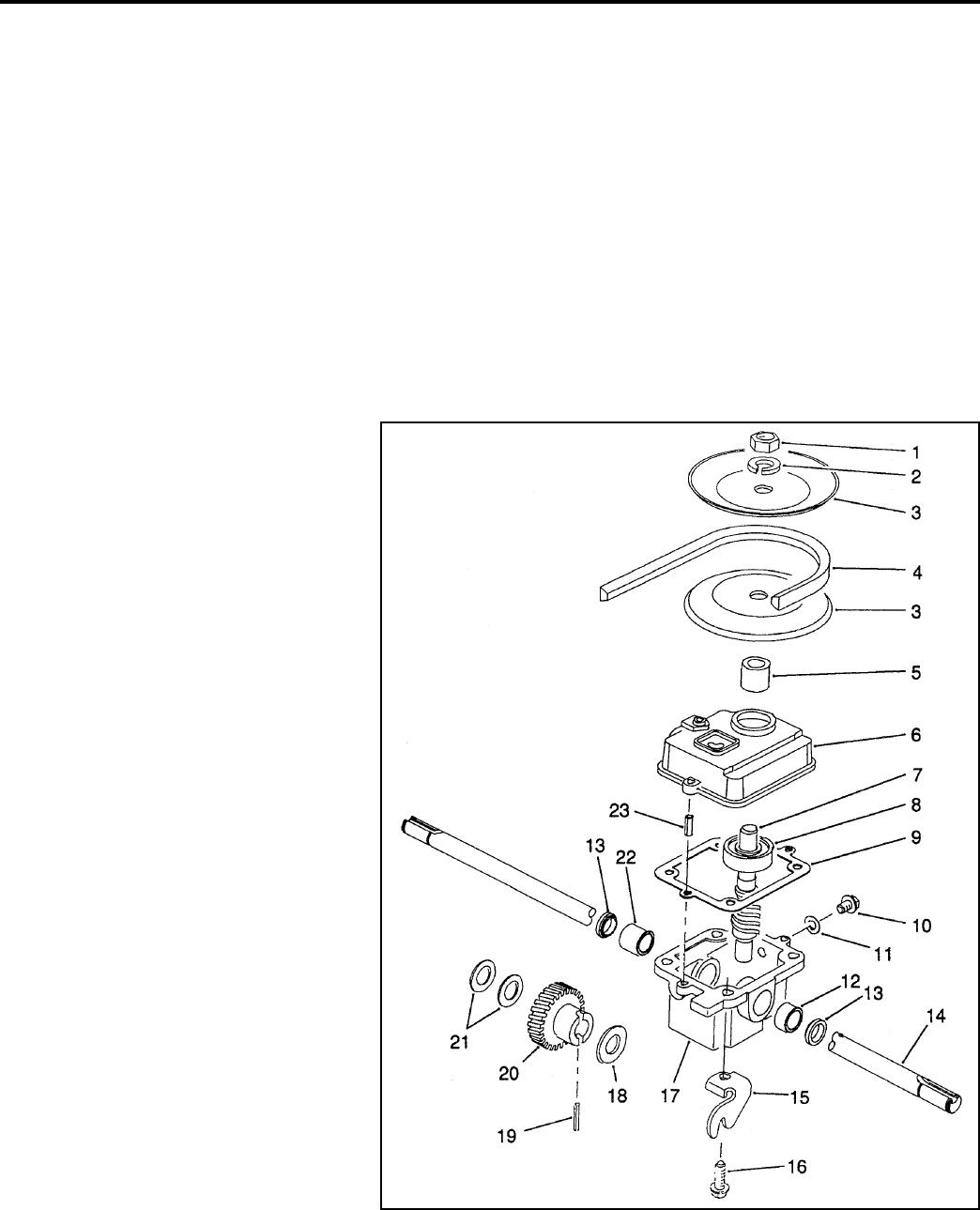 !! Toro Lawn Boy Walk Behind Power Mower Drive Systems Manual