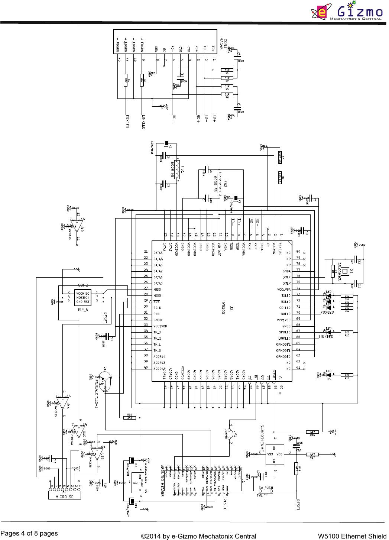 W5100 Ethernet Shield Hardware Manual