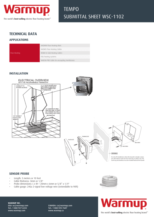 small resolution of warmup underfloor heating thermostat wiring diagram
