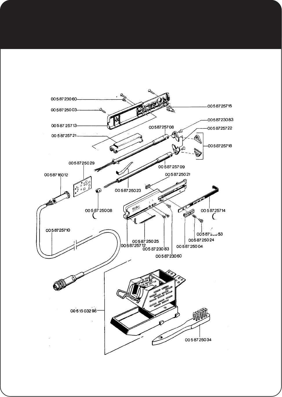 Weller Part 1 Parts Catalog