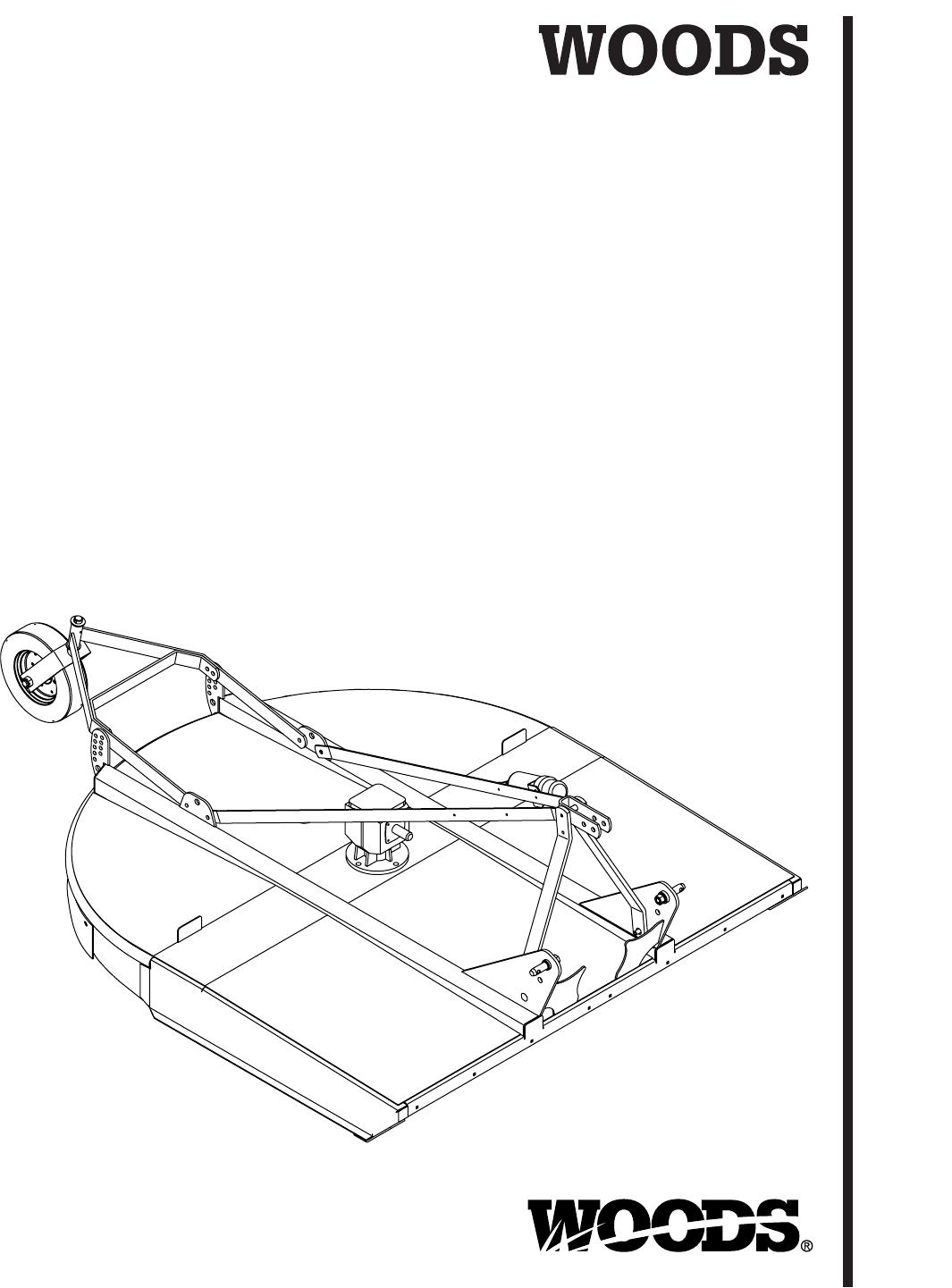 Brushbull Rotary Cutter BB48, BB60, BB72, And BB84