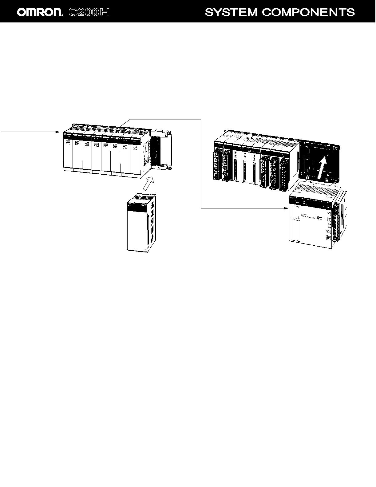 C200HX CPU44 E Omron C200H System Overview Computer