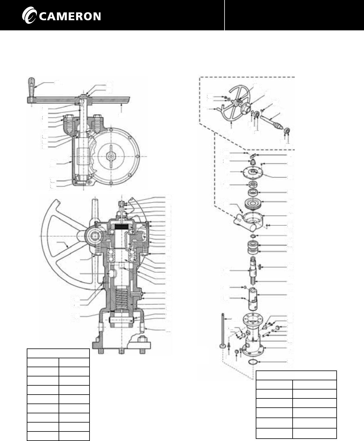 General valve twin seal iom