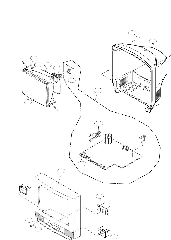LG RP 14CB20, 20CB20A, 21FB20 Service Manual. Www.s