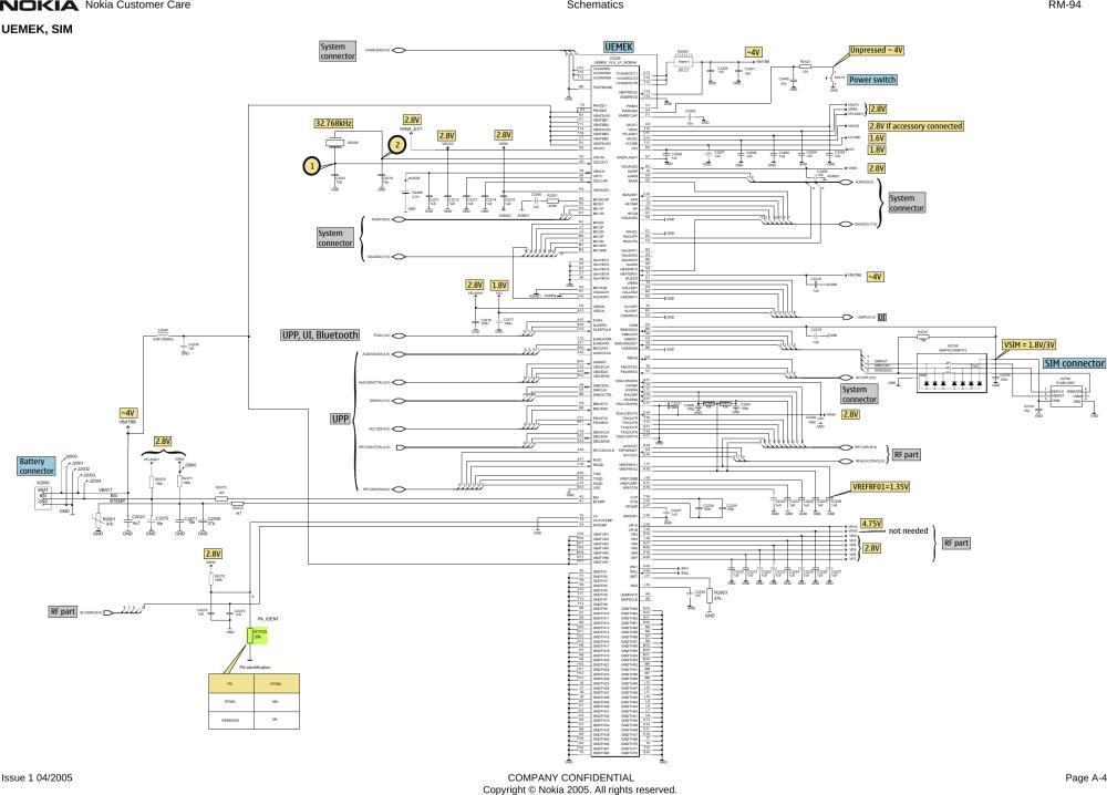 medium resolution of nokia 114 schematic diagram free download 08 rm94 schem nokia 6021 rm 94 schematicsrh