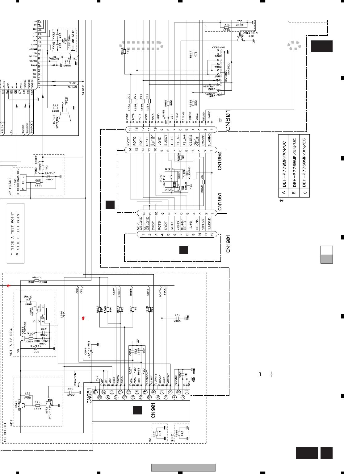Wiring Diagram Pioneer Deh 34 / Pioneer Deh Wiring Diagram