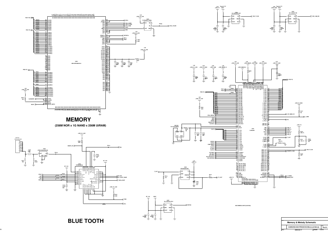 Samsung SGH D600 Schematics. Www.s manuals.com. Schematics