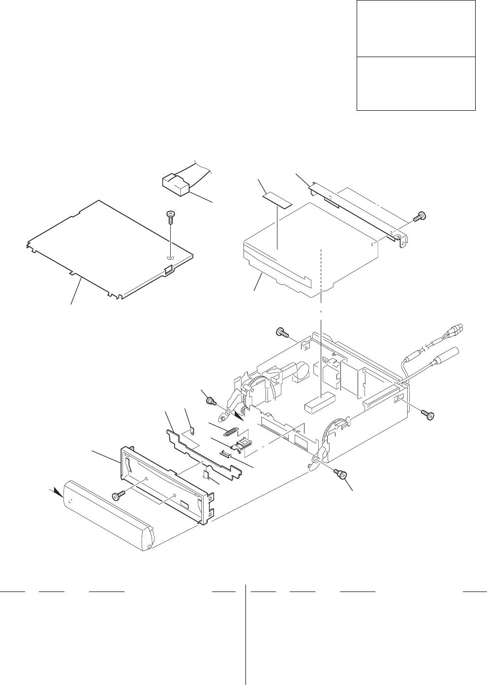 Sony CDX M800 Service Manual. Www.s manuals.com. Manual