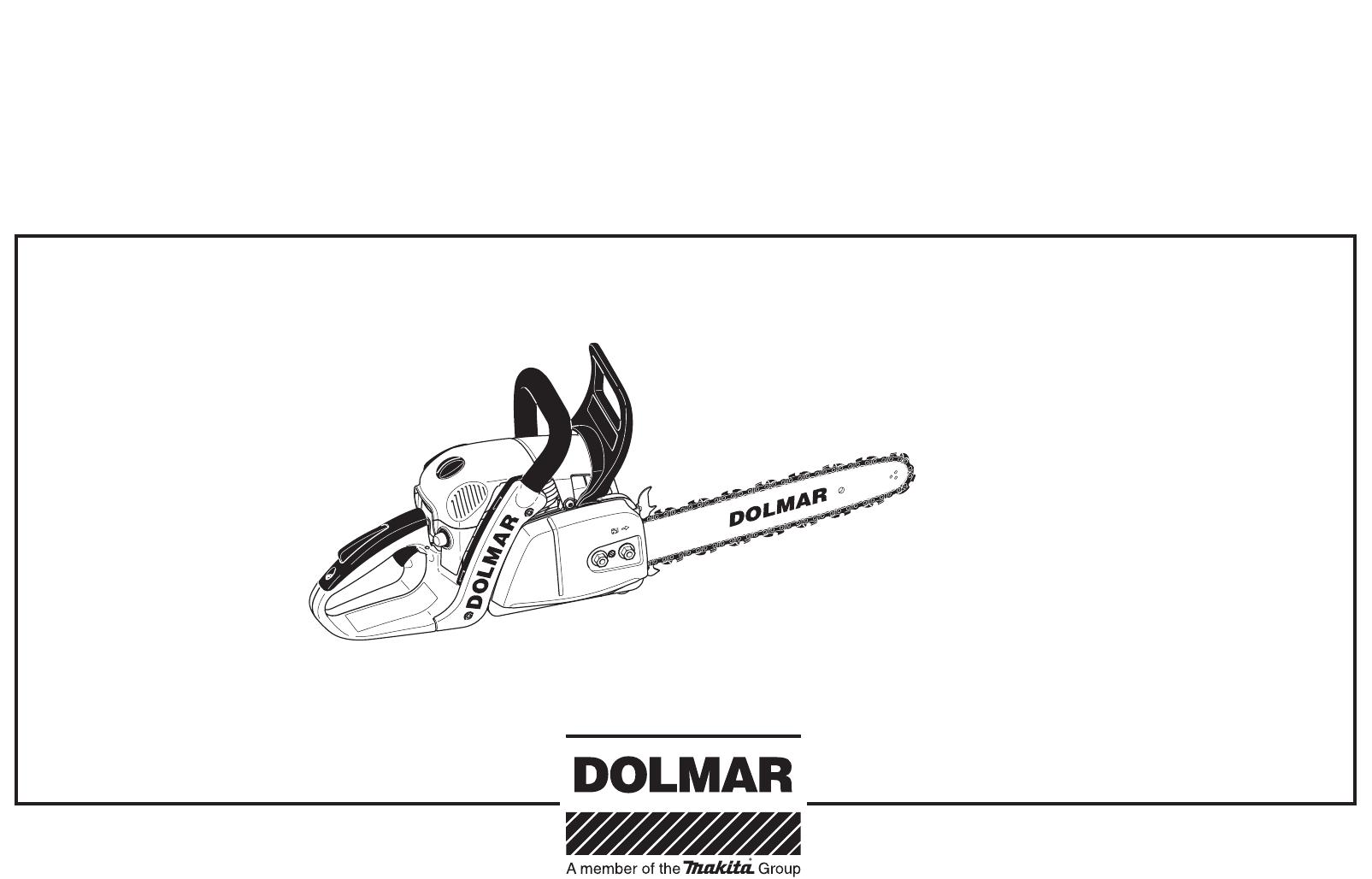 Dolmar Ps 350 Users Manual