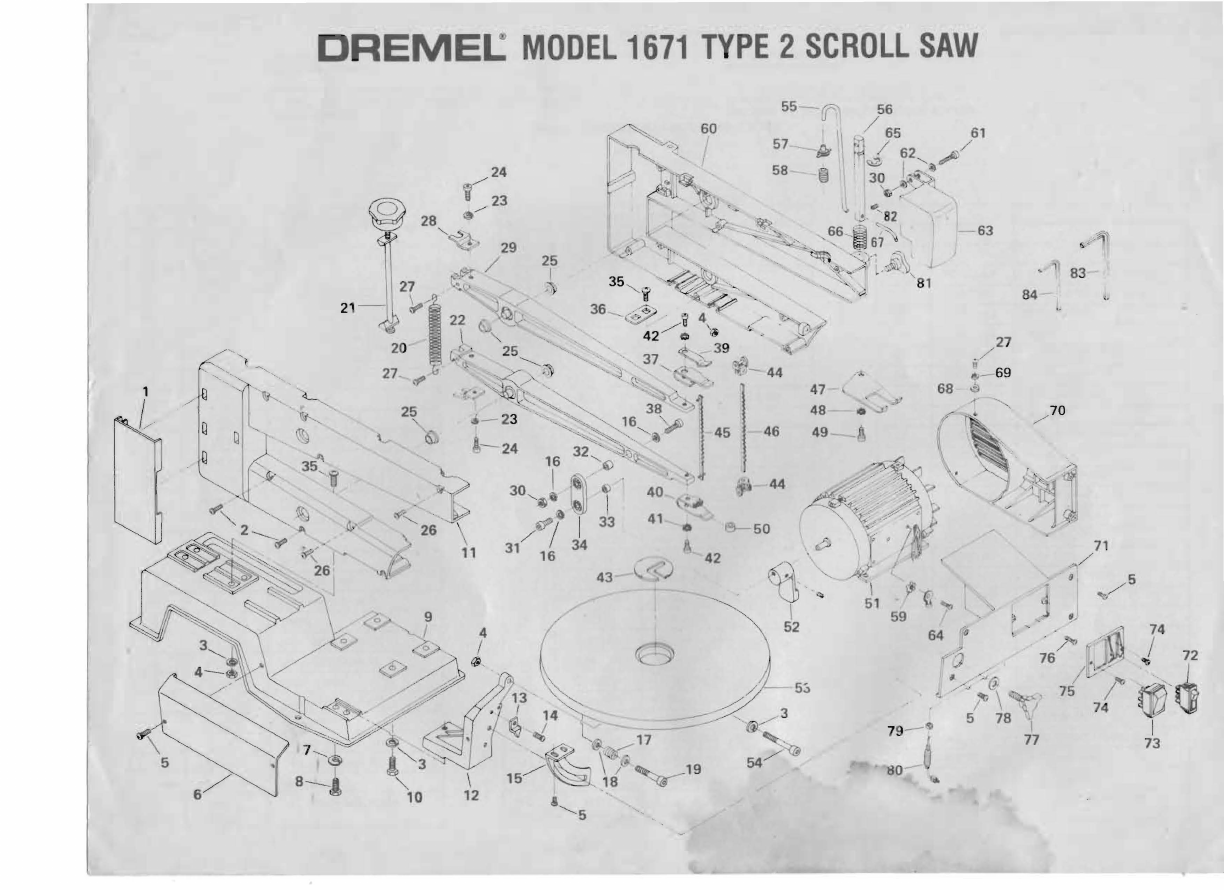 Dremel 1671 Owners Manual ManualsLib Makes It Easy To Find