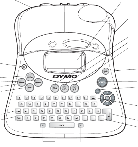 Dymo Labelmanager 350D Users Manual