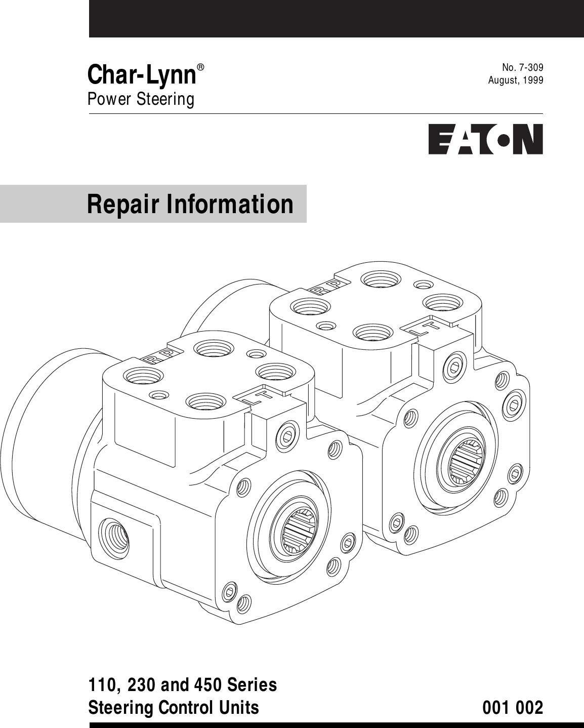 Eaton Electrical Char Lynn 110 Users Manual 07 309.pm6