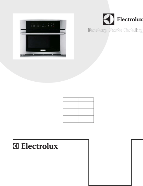 small resolution of electrolux 30 built in convection microwave oven with drop down door ew30so60qs wiring diagram 5995652582