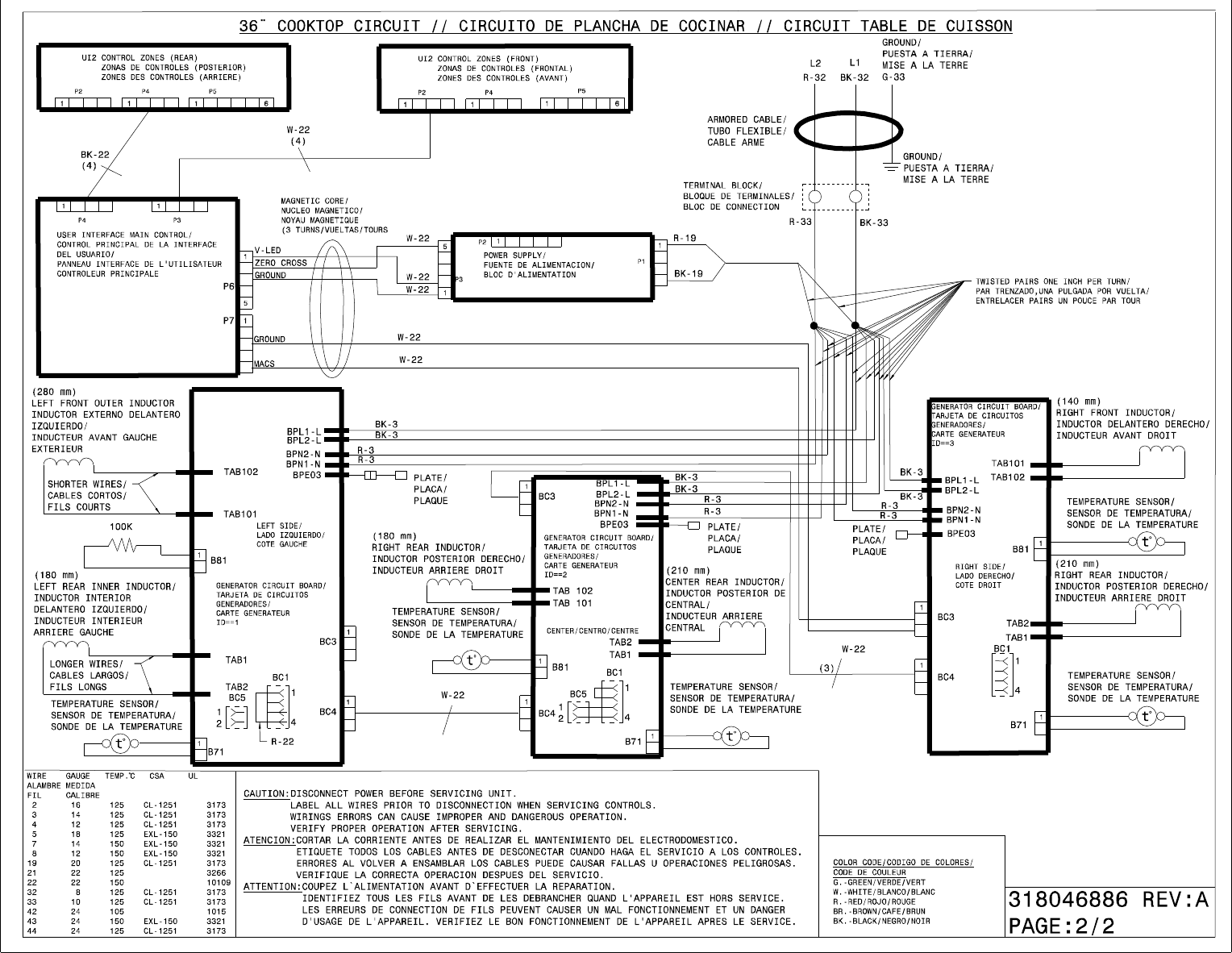 Electrolux 30 Induction Cooktop Ew30Ic60Lb Wiring Diagram