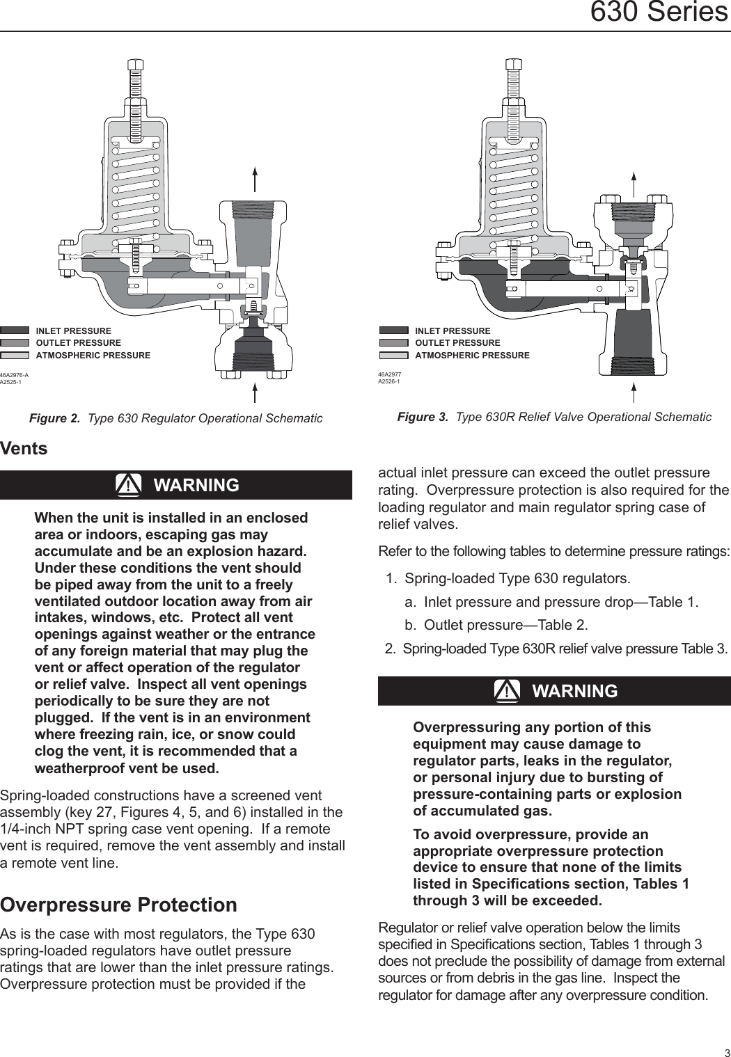 Emerson 630 Regulator Instruction Manual