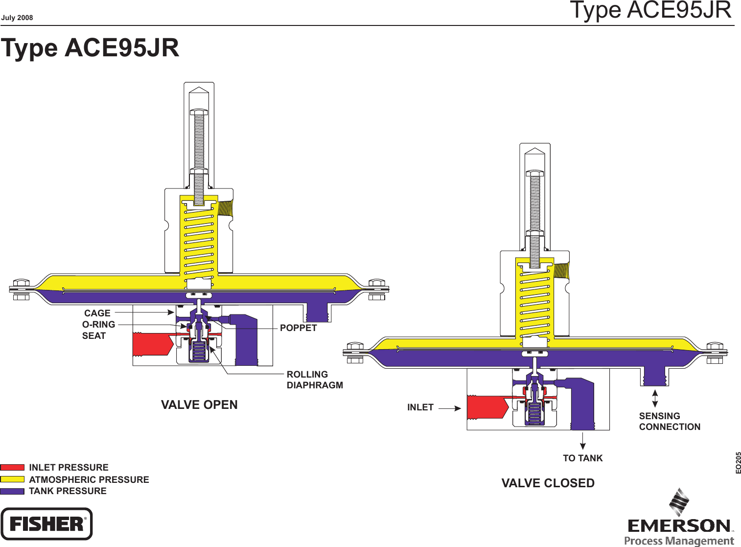 hight resolution of emerson ace95jr tank blanketing valve drawings and schematics eo205 ace95jr schematic lr