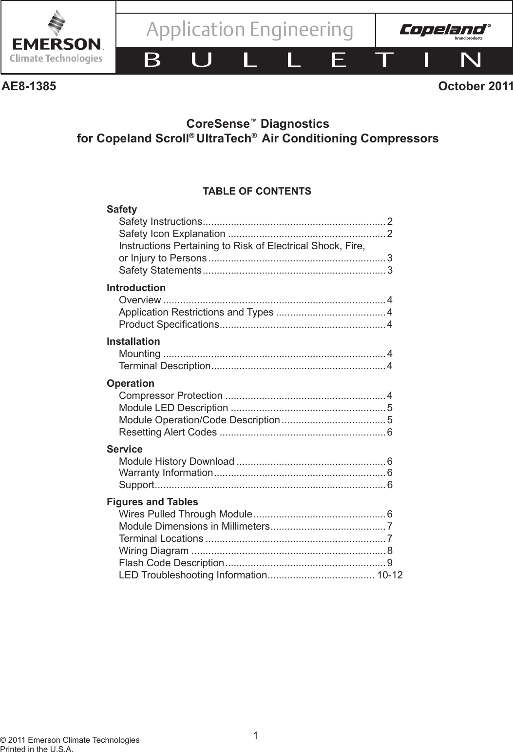 hight resolution of page 1 of 12 emerson emerson ae8 1385 users manual