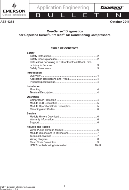 small resolution of page 1 of 12 emerson emerson ae8 1385 users manual