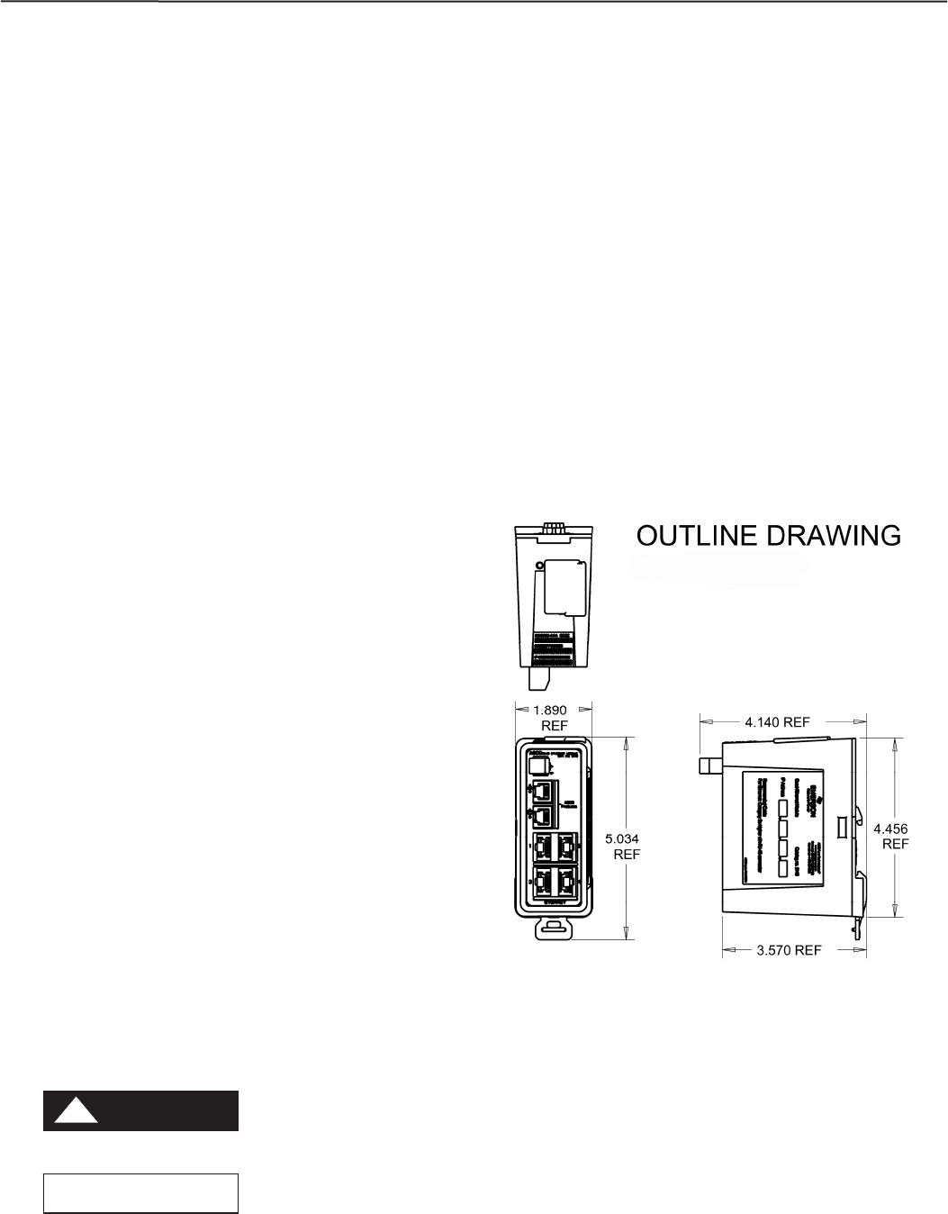 Emerson Asco 5140 Quad Ethernet Module Acc 72Ee
