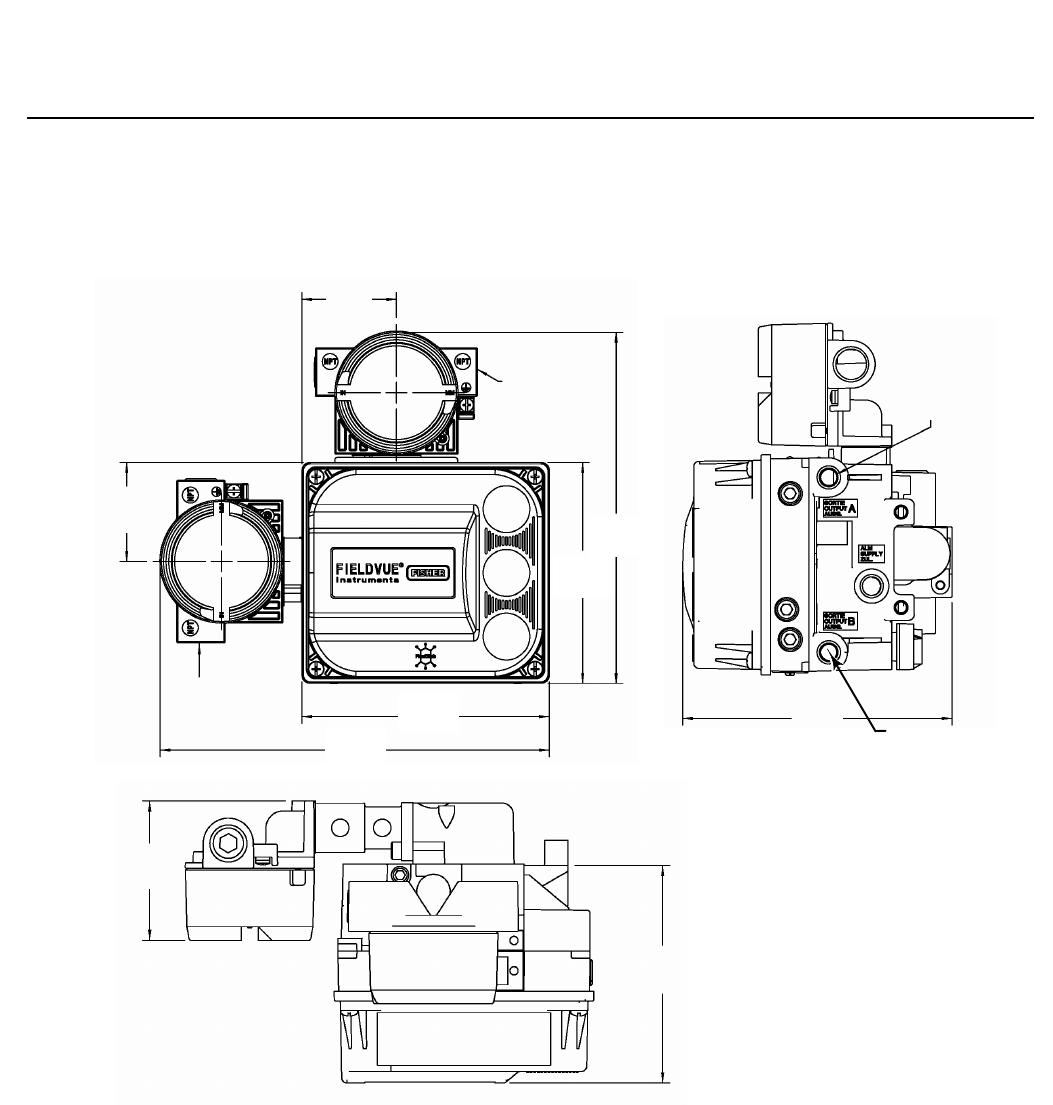 Emerson Fisher Fieldvuedvc6200 Digital Valve Controller