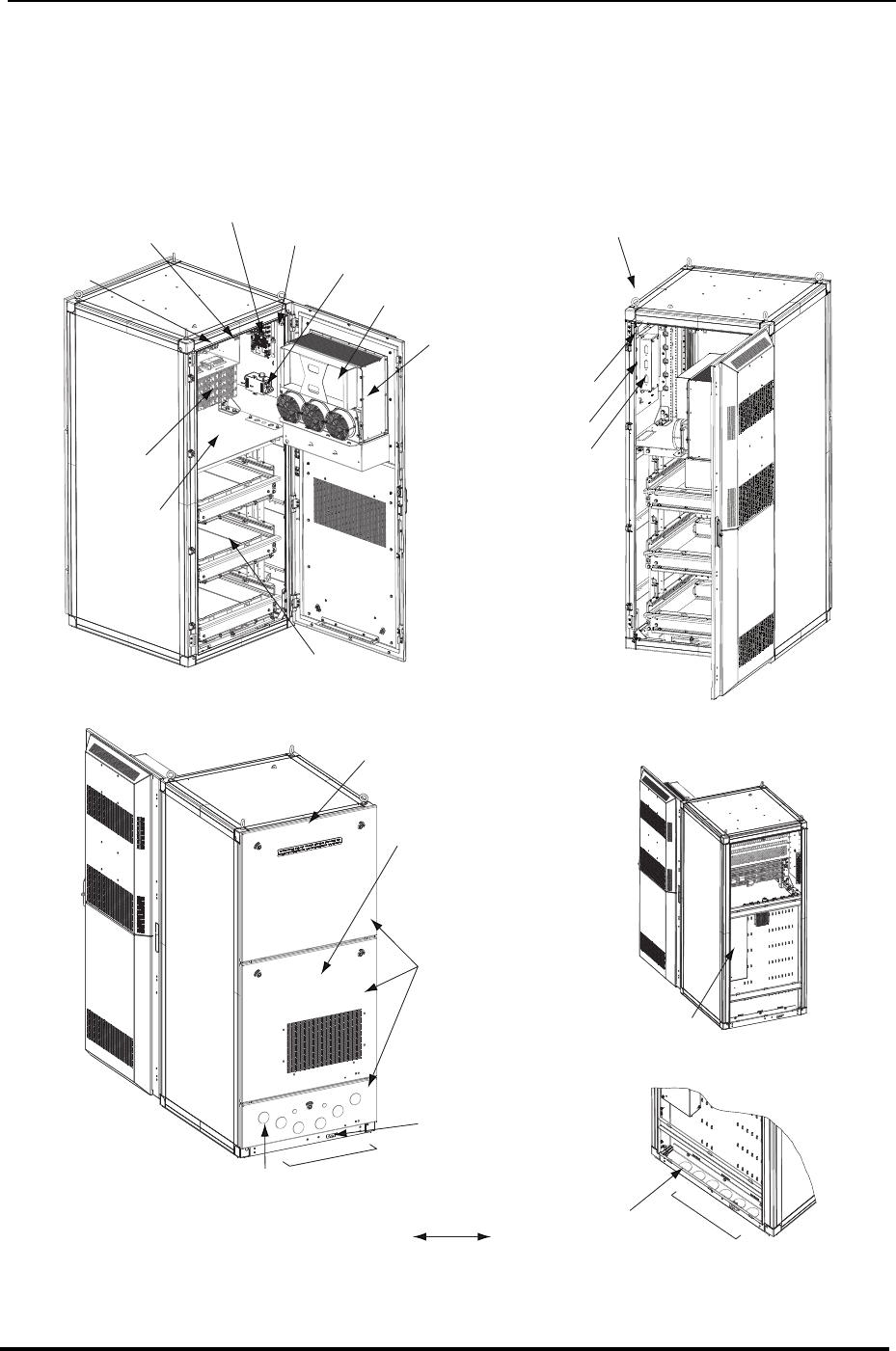 Emerson Netxtend Flex Power And Battery Enclosure